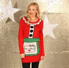 MRS CLAUS KNITTED DRESS